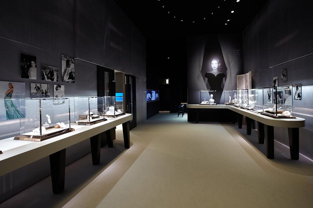 Installazioni: Evento esposizione Mont Blanc princesse Grace De Monaco