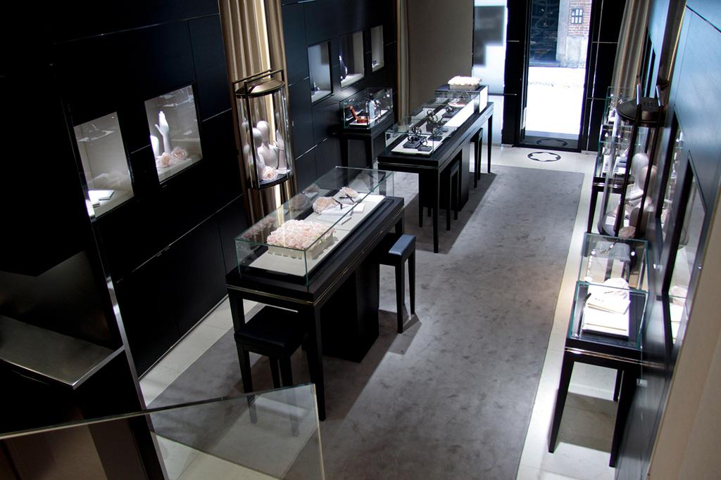 Installazioni: Evento Esposizione Mont Blanc princesse Grace De Monaco Collection