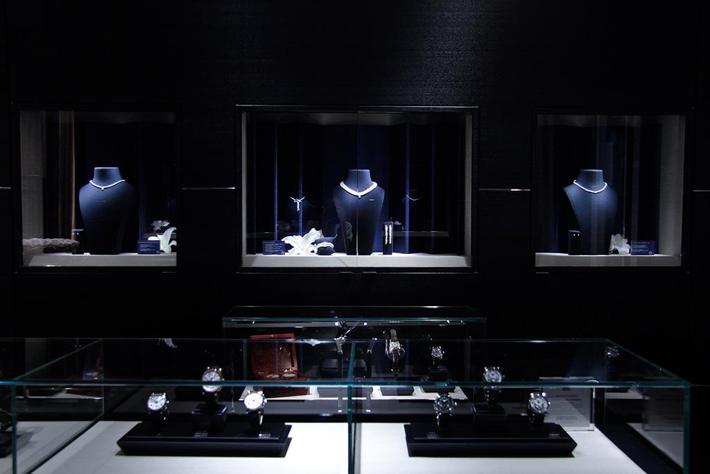 Installazioni: Evento esposizione prodotti Mont Blanc
