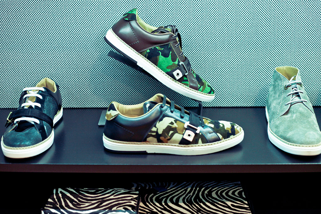 Espositori scarpe Jimmy Choo